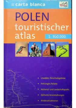 Polen touristischer atlas nowa z defektem