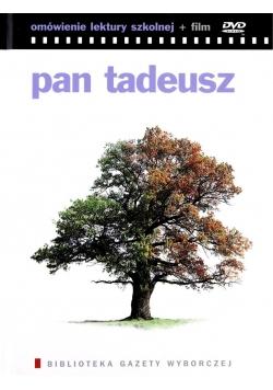 Pan Tadeusz Omówienie lektury szkolnej + płyta DVD
