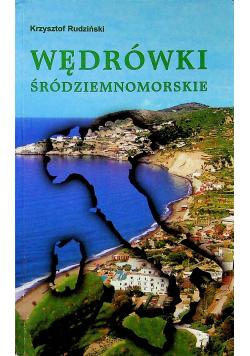 Wędrówki śródziemnomorskie autograf Rudzińskiego