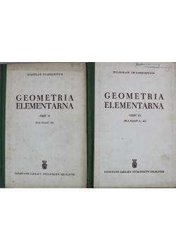 Geometria elementarna Część II i III