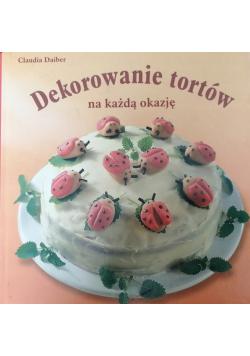 Dekorowanie tortów na każdą okazję