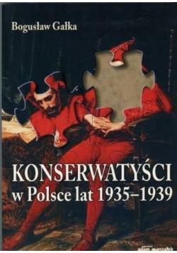 Konserwatyści w Polsce lat 1935-1939 w.2