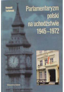 Parlamentaryzm polski na uchodźstwie 1945 1972