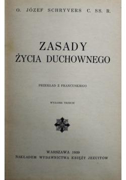 Zasady życia duchownego 1926 r