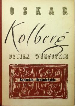 Kolberg Dzieła wszystkie Tom 51 Sanockie  Krośnieńskie Część III