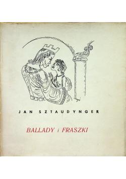 Sztaudynger Ballady i fraszki