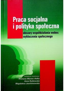 Praca socjalna i polityka społeczna