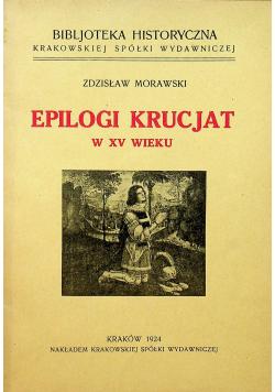 Epilogi Krucjat w XV wieku, 1924 r