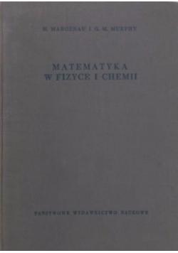 Matematyka w fizyce i chemii