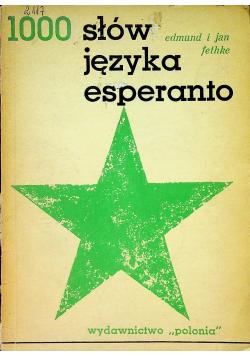 1000 słów języka esperanto