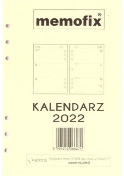 Kalendarz 2022 wkład MEM/A5/TDW