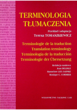 Terminologia tłumaczenia