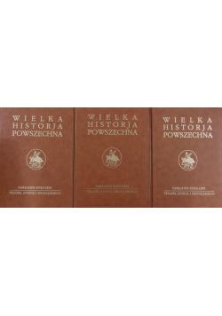 Wielka historja powszechna 3 części tomu I Reprint z 1935 r