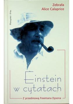 Einstein w cytatach