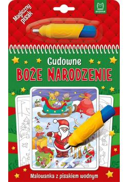 Cudowne Boże Narodzenie. Malowanka z pisakiem