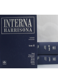 Interna Harrisona tomy od 1 do 3
