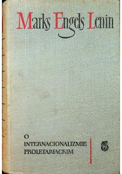 O internacjonalizmie proletariackim