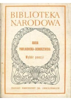 Jasnorzewska Wybór poezji