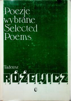 Różewicz Poezje wybrane