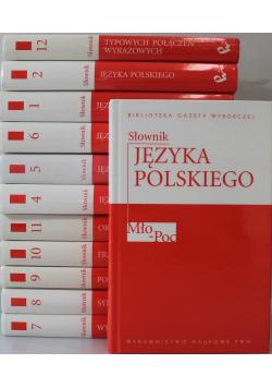 Biblioteka Gazety Wyborczej Słowniki tom od 1 do 12