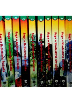 Saga o królestwie światła 10 tomów