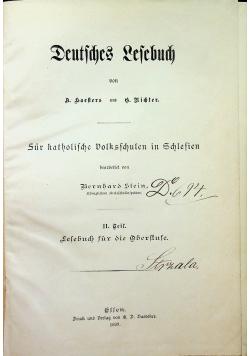 Deutches lesebuch 1899r