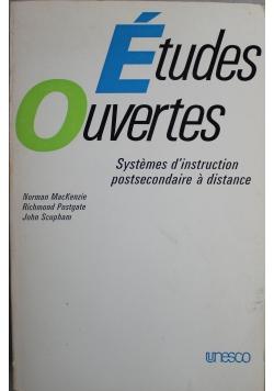 Etudes Ouvertes Systemes dinstruction postsecondaire a distance