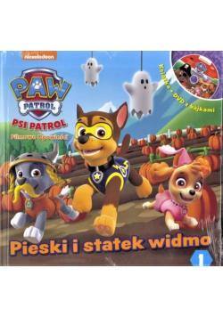 Psi Patrol 1 Pieski i statek widmo plus DVD