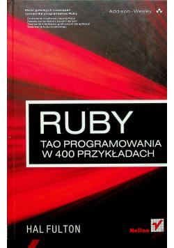 Ruby Tao programowania w 400 przekładach