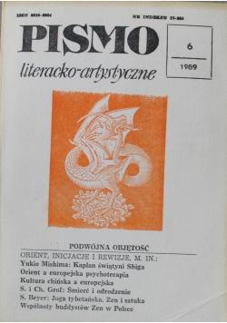 Pismo literacko artystyczne nr 6 1989