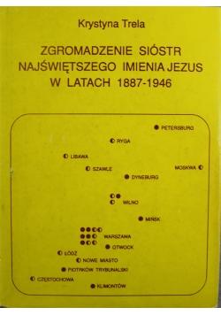 Zgromadzenie sióstr Najświętszego Imienia Jezus w latach 1887 1946