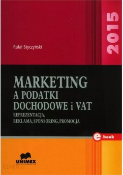 Marketing a podatki dochodowe i VAT