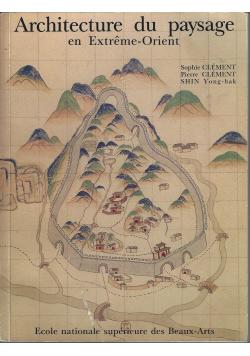 Architecture du paysage en Extreme Orient
