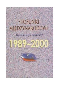 Stosunki międzynarodowe 1989 2000
