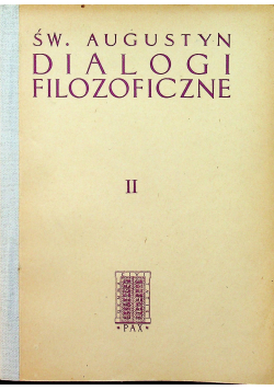 Dialogi filozoficzne II