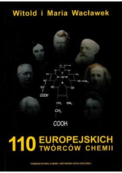 110 europejskich twórców chemii