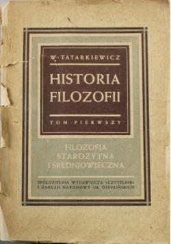 Historia filozofii tom 1 1946 r.