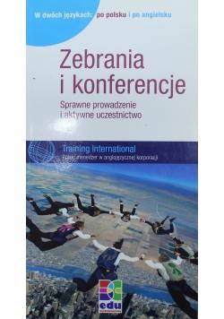 Zebrania i konferencje Sprawne prowadzenie i aktywne uczestnictwo