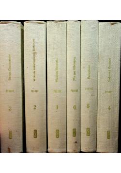 W poszukiwaniu straconego czasu 6 tomów