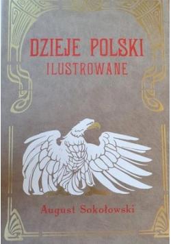Dzieje Polski ilustrowane  Reprint z 1904 r.