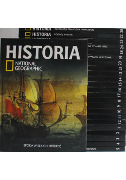 Historia National Geographic 24 tomów