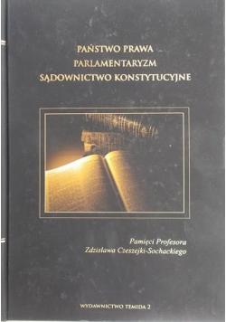 Państwo prawa parlamentaryzm sądownictwo konstytucyjne