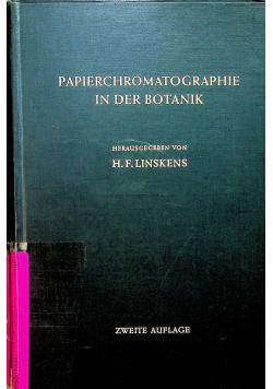 Papierchromatographie in der Botanik