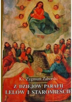 Z dziejów parafii Lelów i Staromieście