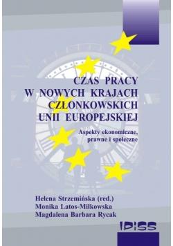 Czas Pracy w Nowych Krajach Członkowskich Unii Europejskiej