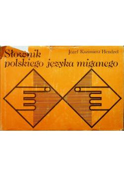 Słownik polskiego języka miganego