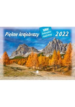 Kalendarz 2022 WL04 Piekne krajobrazy Kalendarz rodzinny