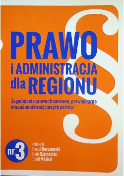 Prawo i administracja dla regionu