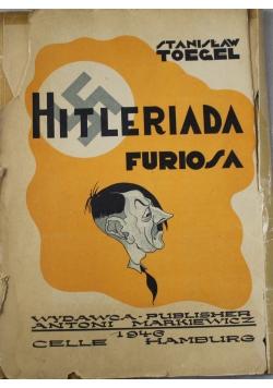 Hitleriada Furiosa 12 karykatur 1946 r. UNIKAT