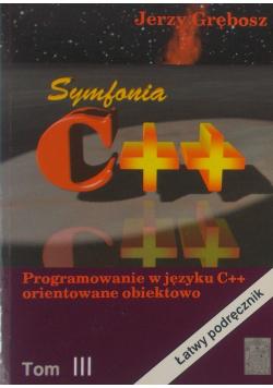 Symfonia C++ Tom III
